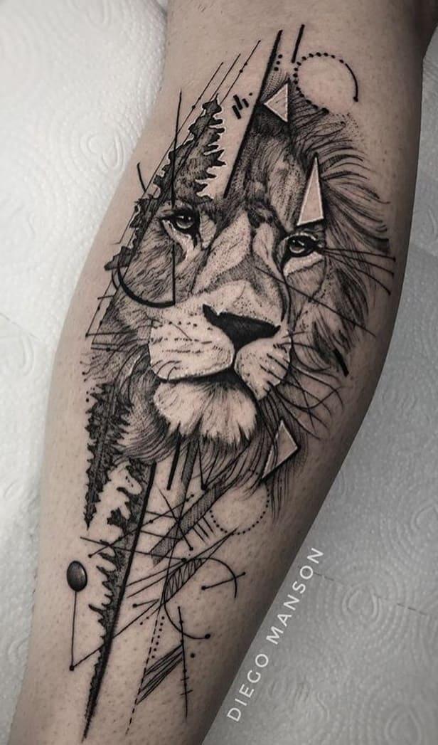 fotos-de-tatuagens-de-leão-femininas-6