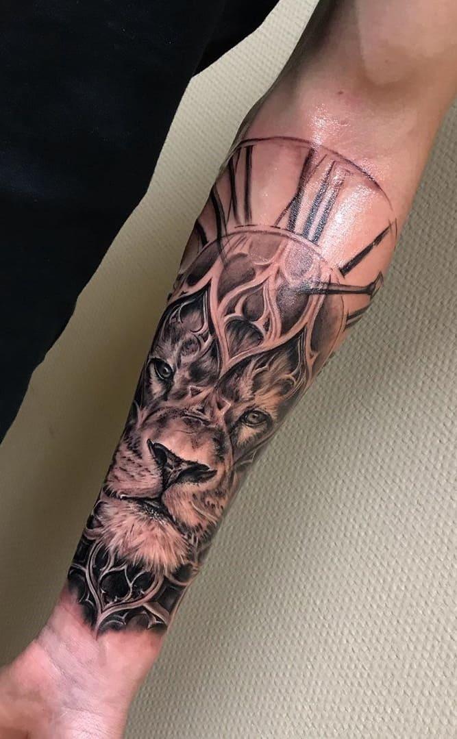 fotos-de-tatuagens-de-leão-masculinas-13