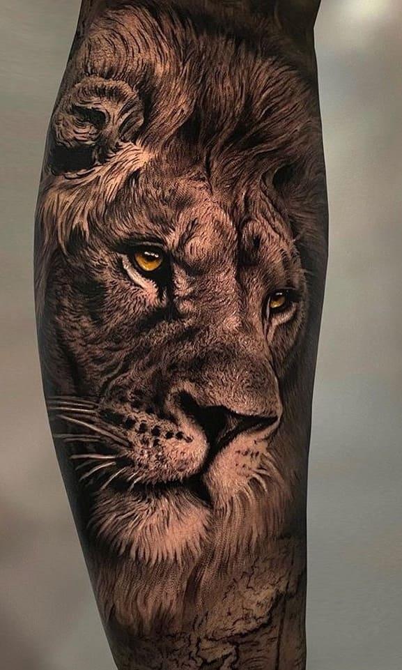 fotos-de-tatuagens-de-leão-masculinas-7