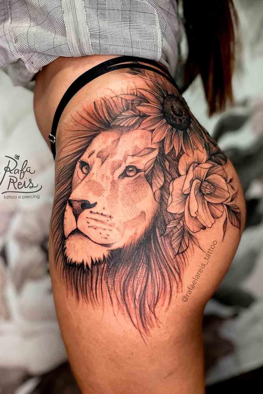 tatuagem-de-leao-do-quadril