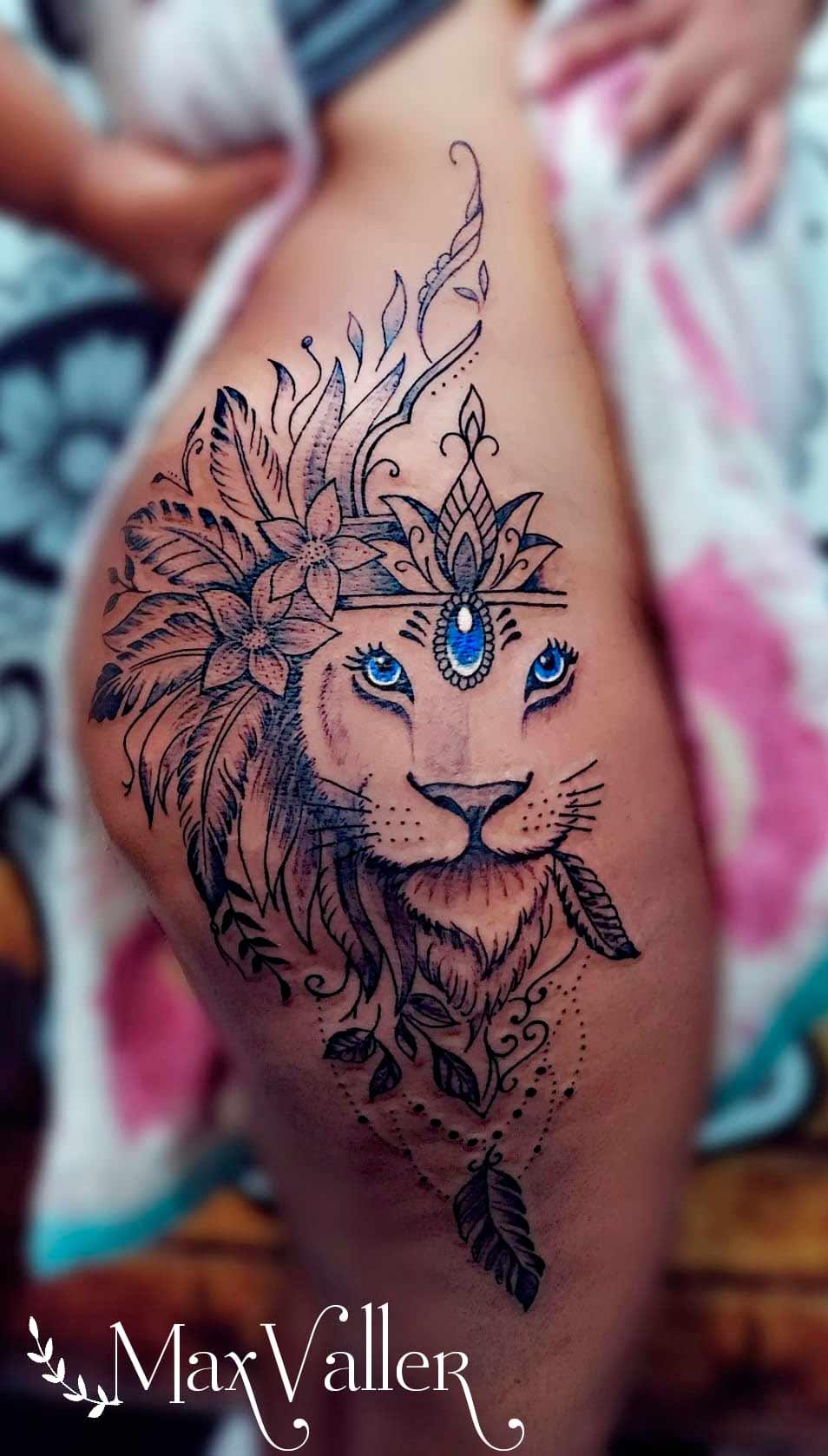 tatuagem-de-leao-no-quadril-1