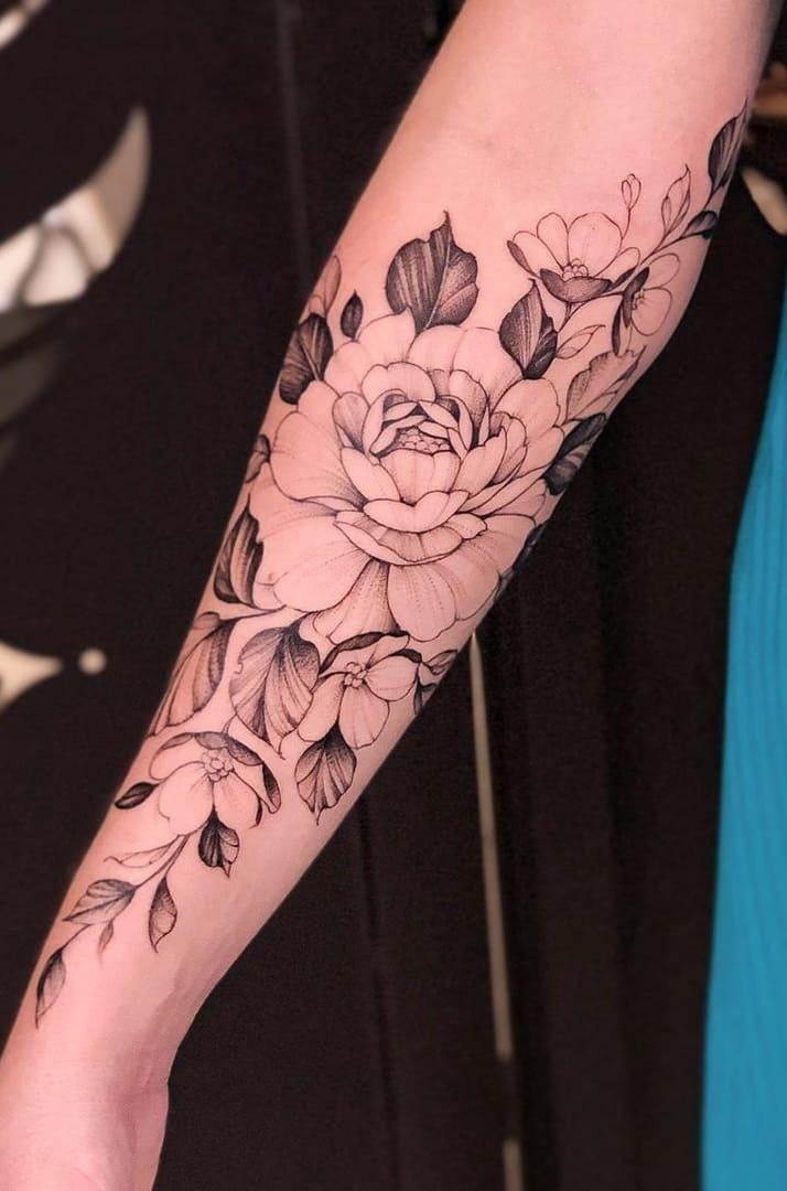 Tatuagem-feminina-no-antebraço-TopTatuagens-17