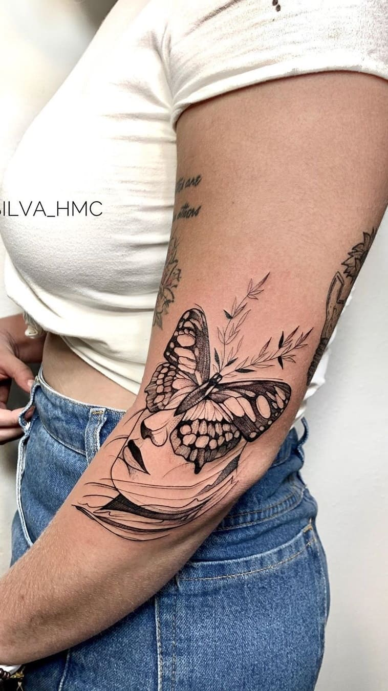 Tatuagem-feminina-no-antebraço-TopTatuagens-22