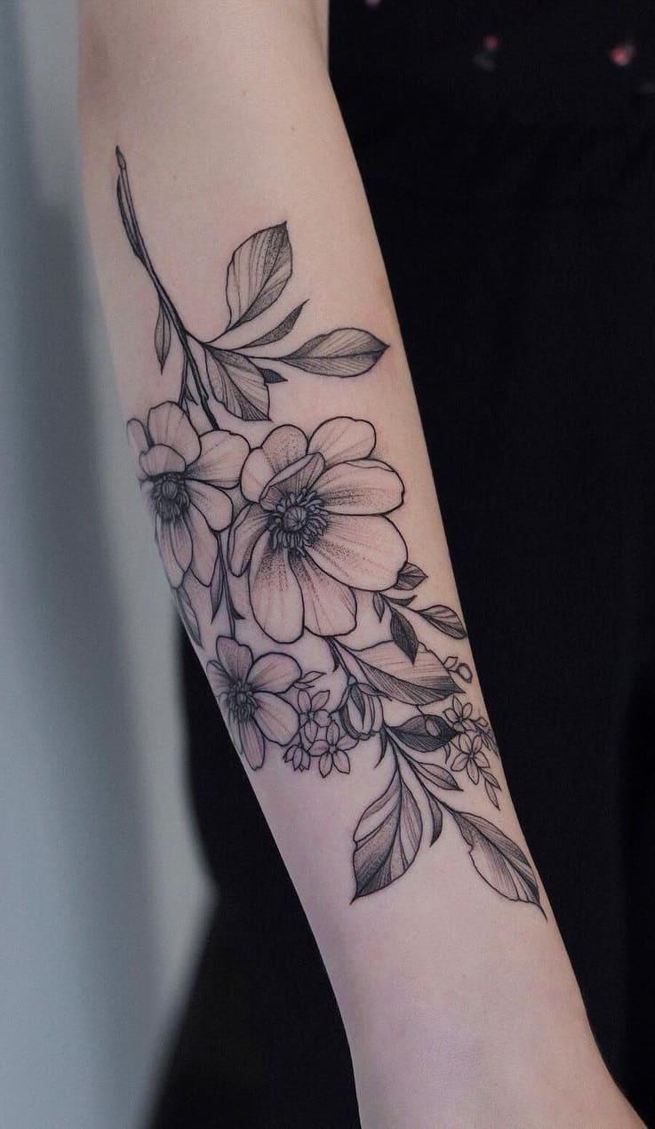 Tatuagem-feminina-no-antebraço-TopTatuagens-23