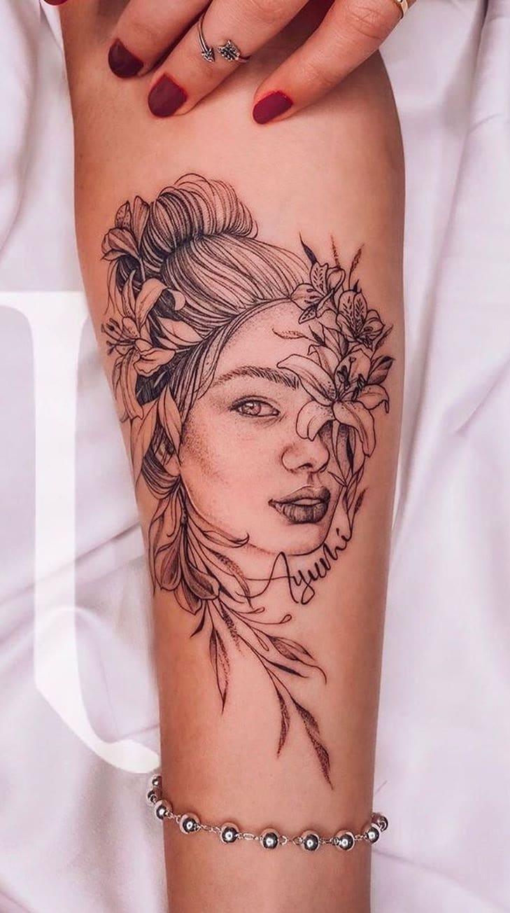Tatuagem-feminina-no-antebraço-TopTatuagens-35