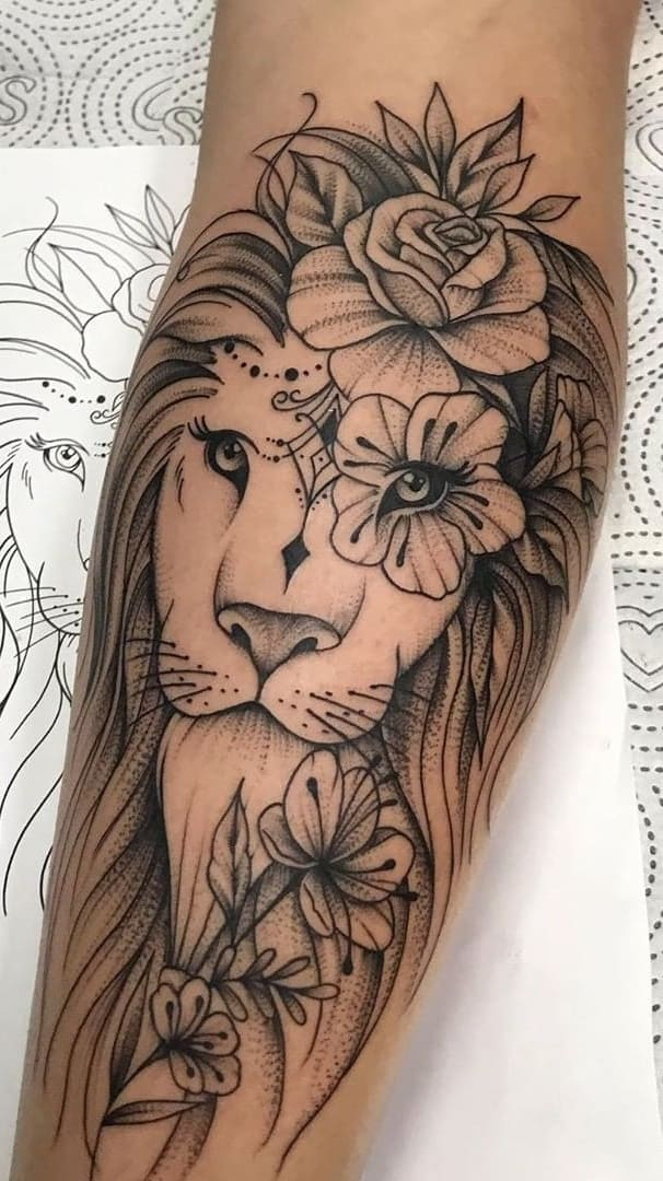 Tatuagem-feminina-no-antebraço-TopTatuagens-36