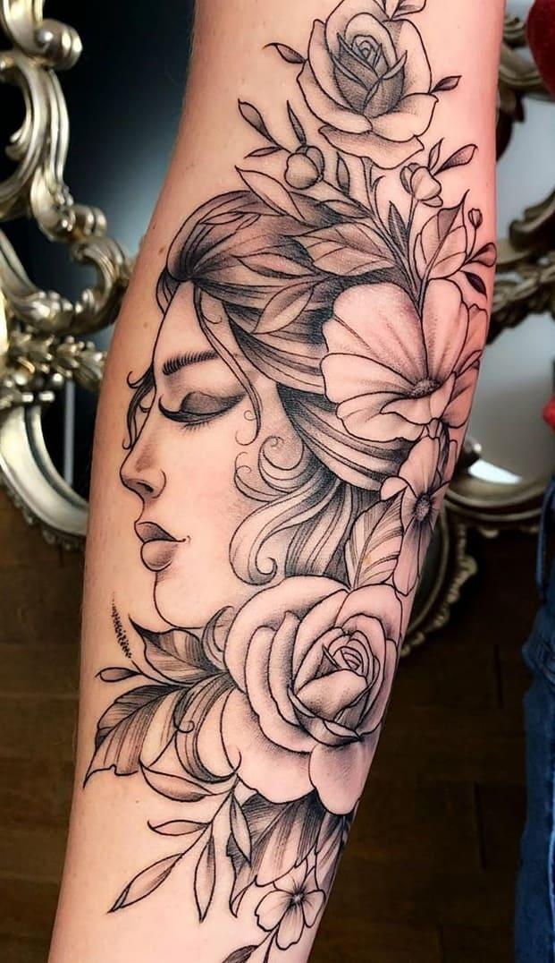 Tatuagem-feminina-no-antebraço-TopTatuagens-8
