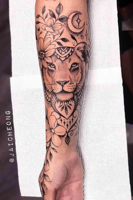 tatuagem-de-leoa-no-antebraco-1