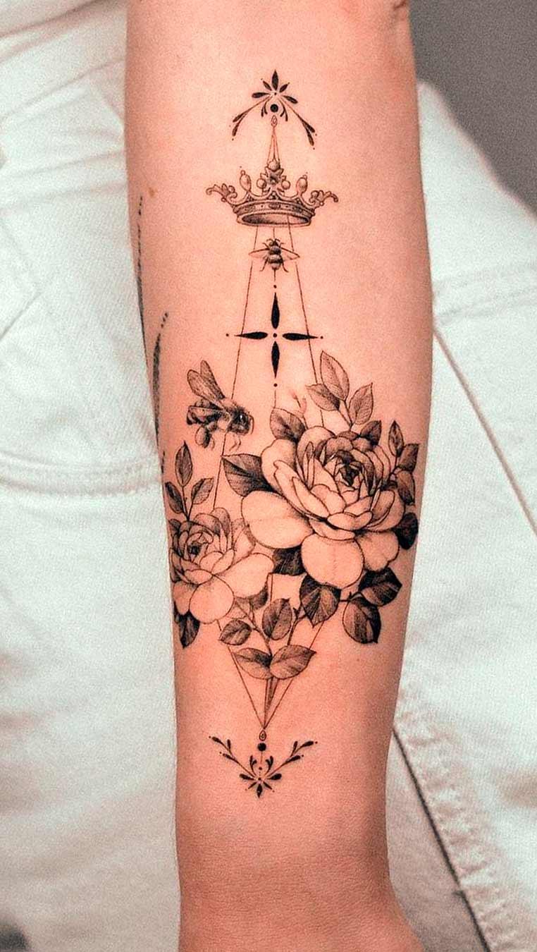 tatuagem-florida-no-antebraco-feminno