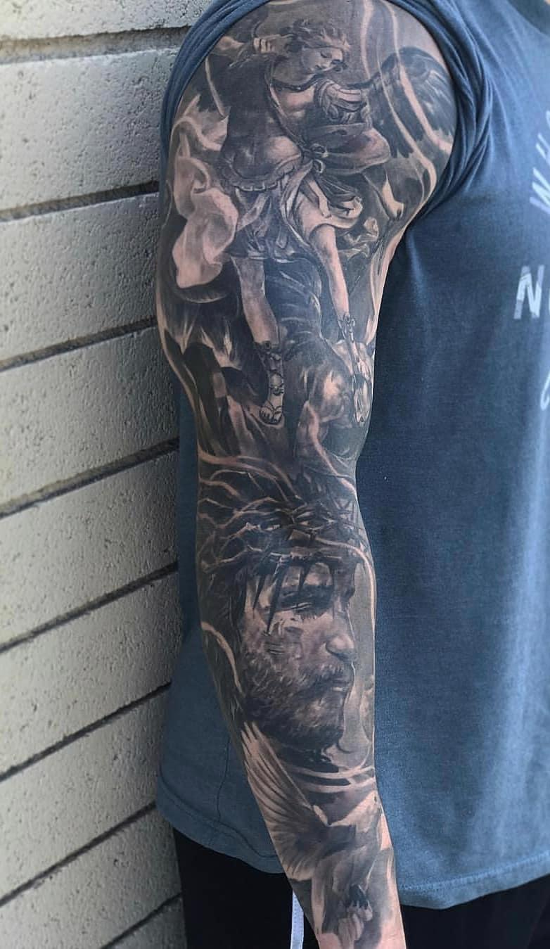 inspirações-de-braço-fechado-de-tatuagens-10