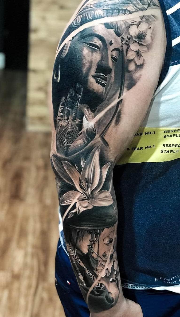 inspirações-de-braço-fechado-de-tatuagens-5