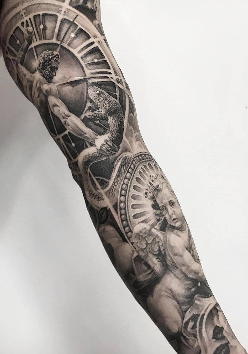 inspirações-de-braço-fechado-de-tatuagens-8