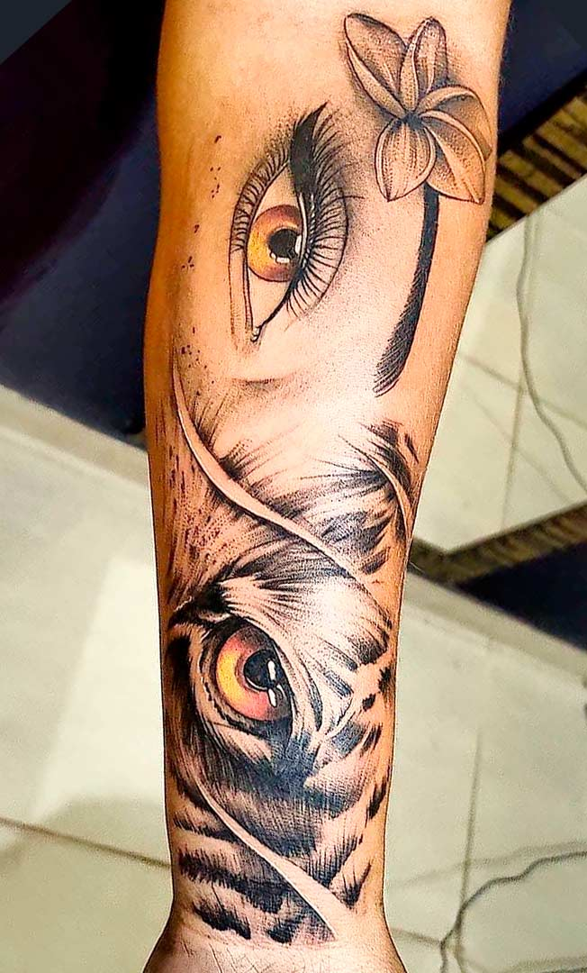tatuagem-de-tigre-no-antebraco