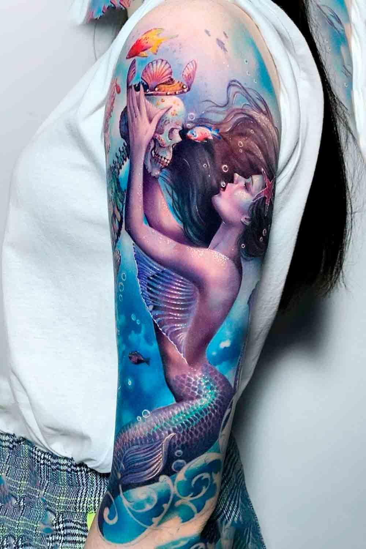Fotos-de-tatuagens-de-sereia